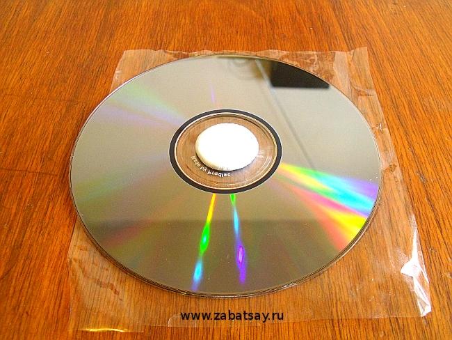 Маховик из CD двигателя Стирлинга